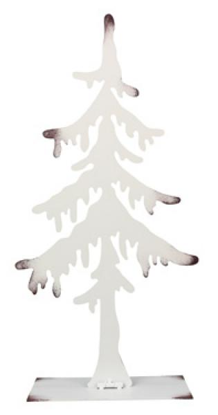 White Laser Cut Metal Tree - Medium - Bloom'n Things, LLC