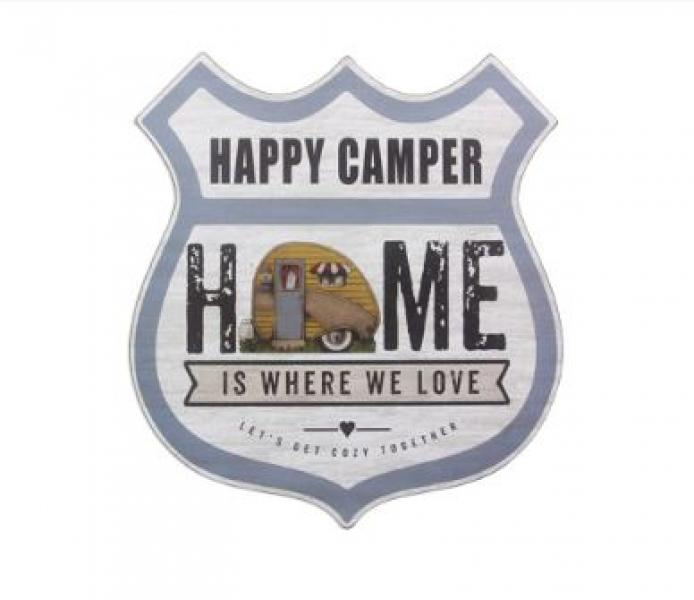 Happy Camper Highway Wall Art - Bloom'n Things