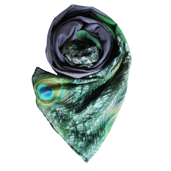 Moyur (cotton mulmul) Scarf