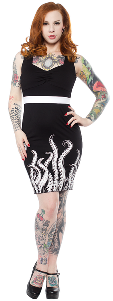 Tentacles Wiggle Dress