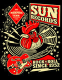 Men's Sun Record Hop Tee