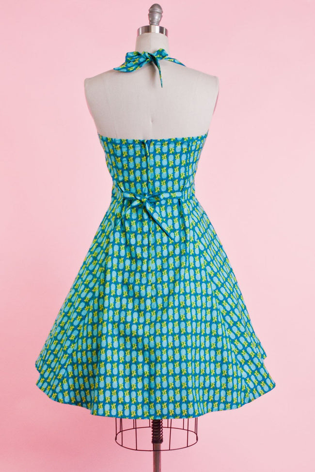 Sweetie Dress - Pineapple Teal