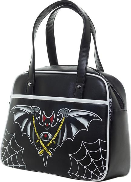 Night Bat Bowler Purse