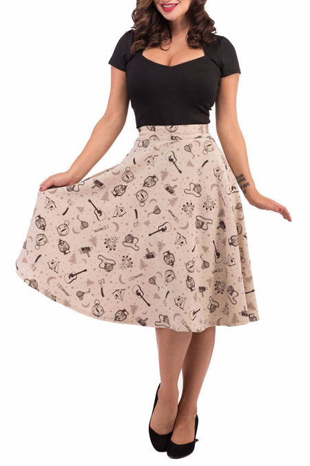 Haunted House Skirt