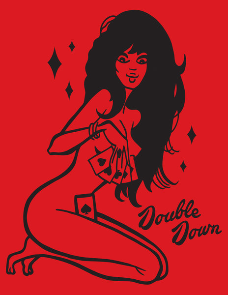 Double Down Girls Tee