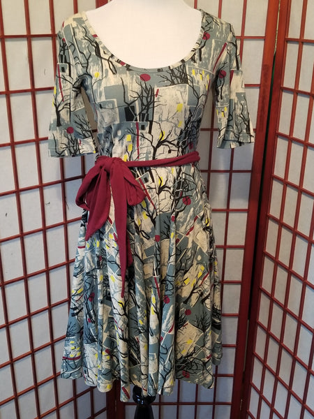 Vintage Hawaiian Maxi Dress by Mr B