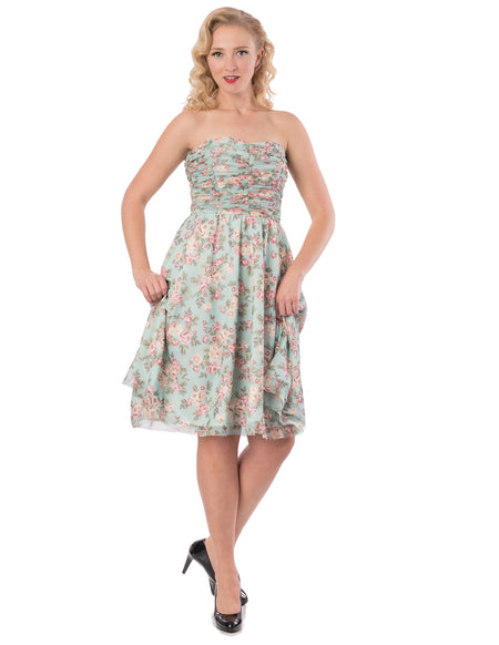 Aqua Pinup State Dress
