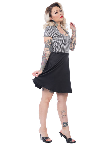 Houndstooth All Angles Dress