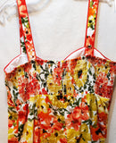 NWT R&K Originals Floral Sundress Volup 80's 90's