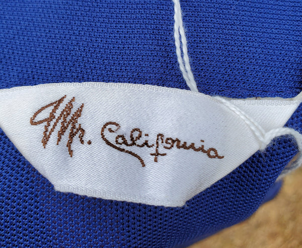 Mr California Pullover Zipper Shirt