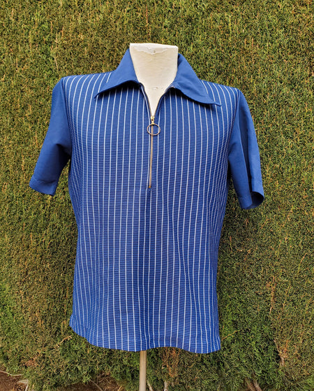 60's Sears Kings Road Men's Store Short Sleeve Button Up