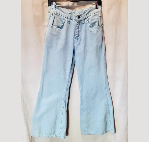 Soft Denim Bell Bottoms No Label