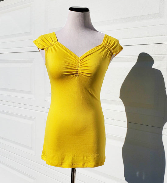Isabel Top in Yellow