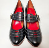 It Girl Black 1920's Style Heels LAST PAIR!