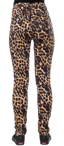 Essential Leopard 5  Pocket Pants