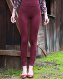 Quartet Leggings in Elderberry