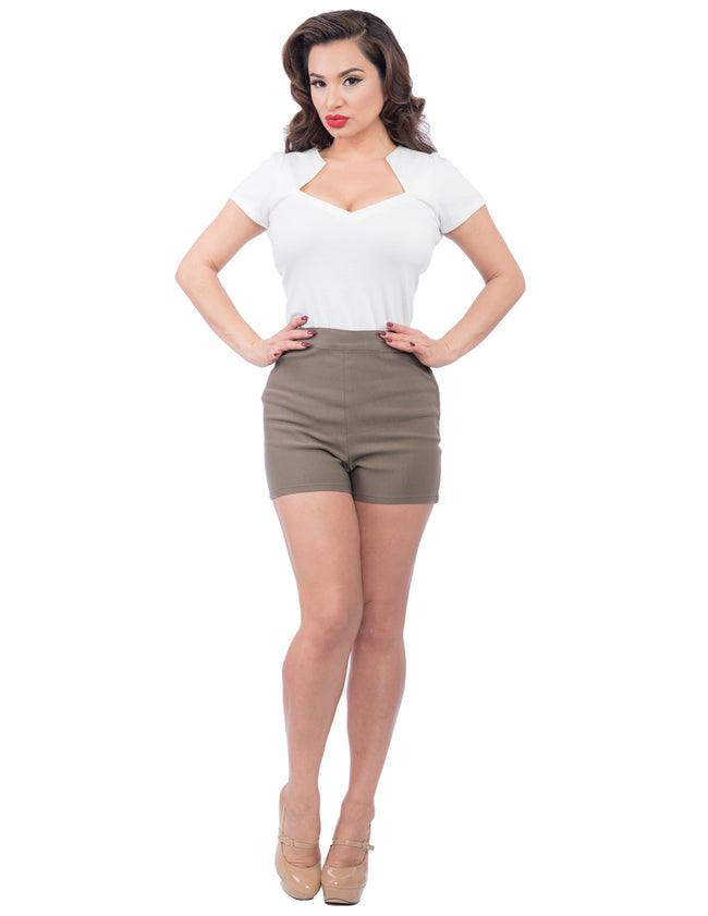 Bombshell High Waist Shorts