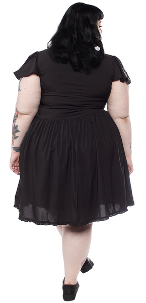 Blackest Black Lydia Dress