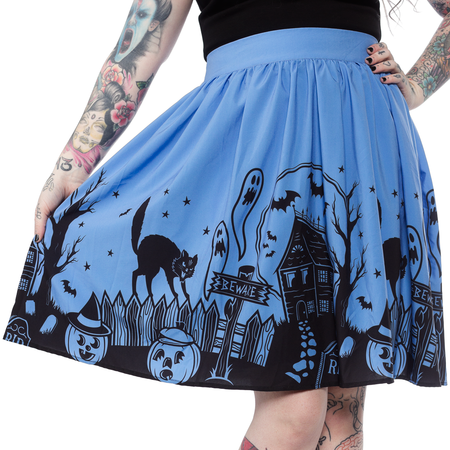 Batty Pinstripe Skirt