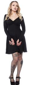 On the Prowl Dress - Black
