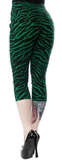 Zebra Sugar Pie Capris