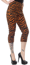 Tiger Print Sugar Pie Capris