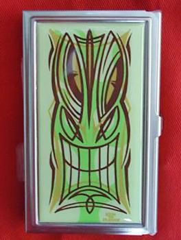 Tiki Business Card/ID Case