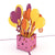 Tarjeta Pop Up Ballon Bouquet