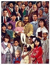 Poster Family of God