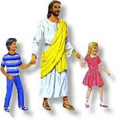 Jesus with two Children