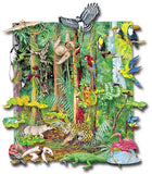 Jungle Animals Playboard Set