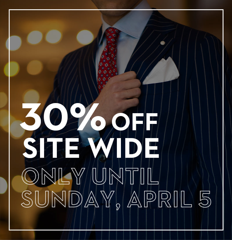 30% Off Site-Wide Sale, only until Sunday