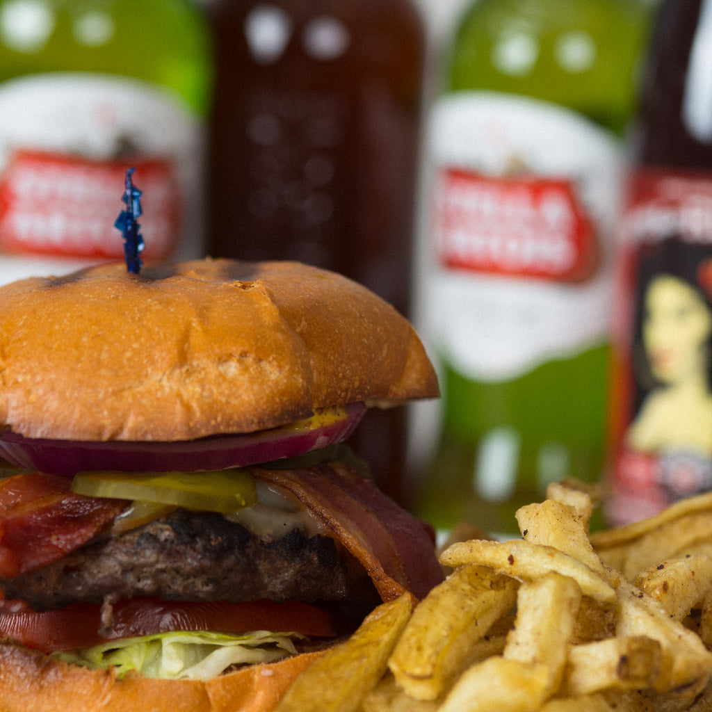 Celebrate Dad With Burgers and Beers at The Helm