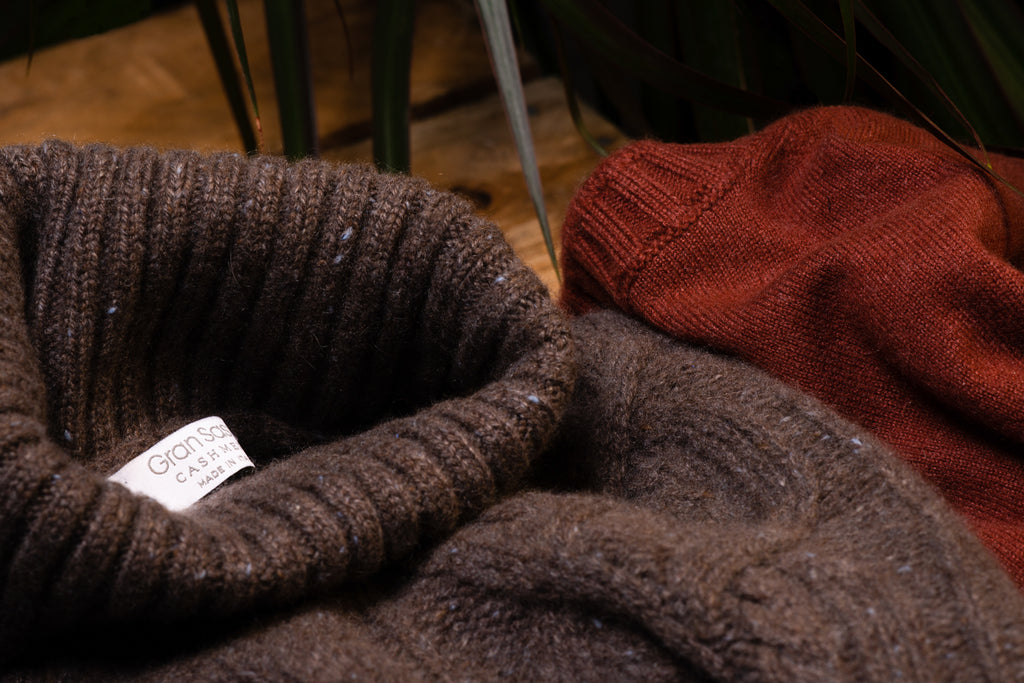 All about knitwear, with expert advice from Gran Sasso