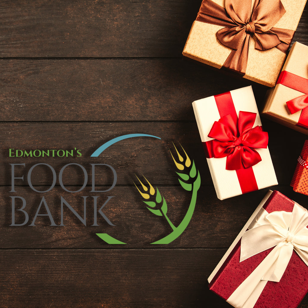We're matching your donations to the Edmonton Food Bank