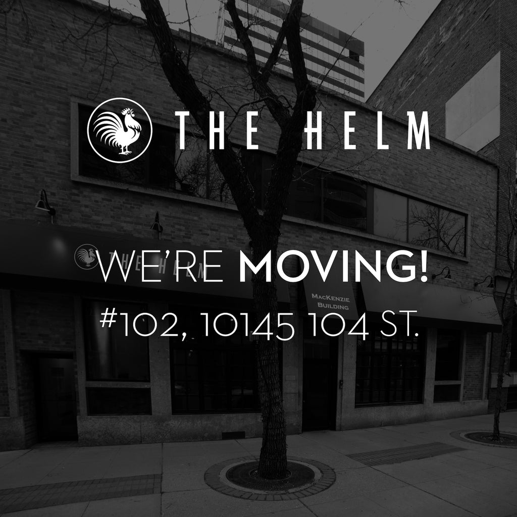 The Helm is Moving! Visit us in our new home down the street on May 22