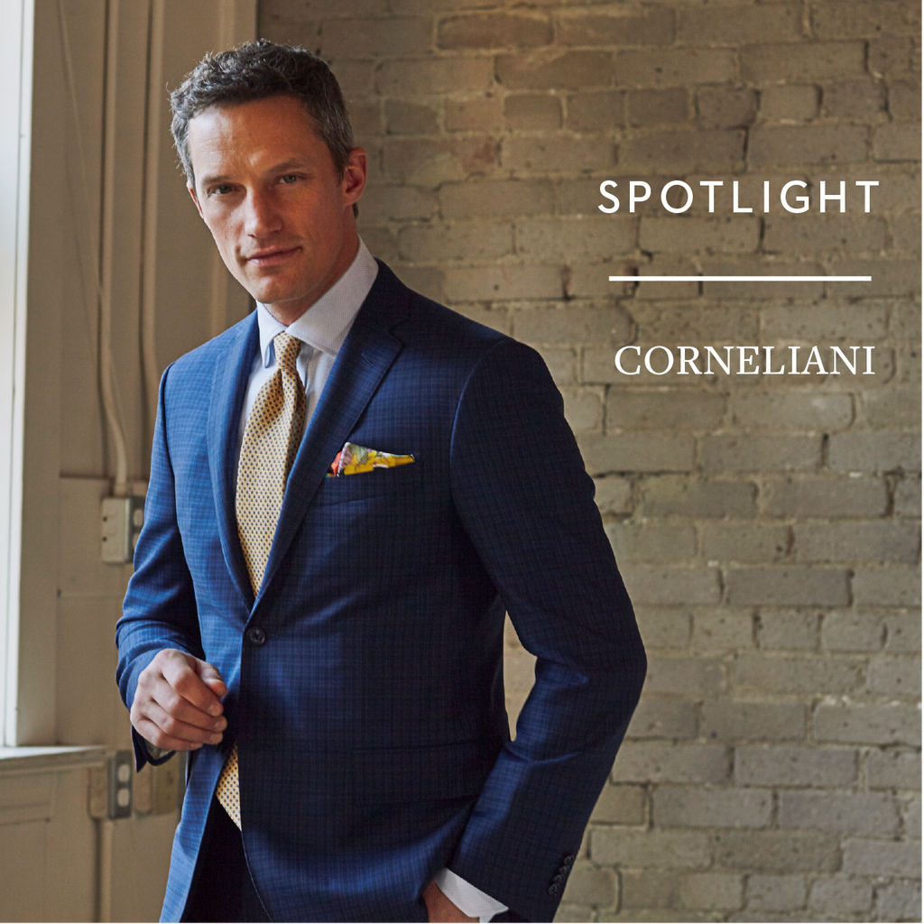 Corneliani suit The Helm blog Spotlight