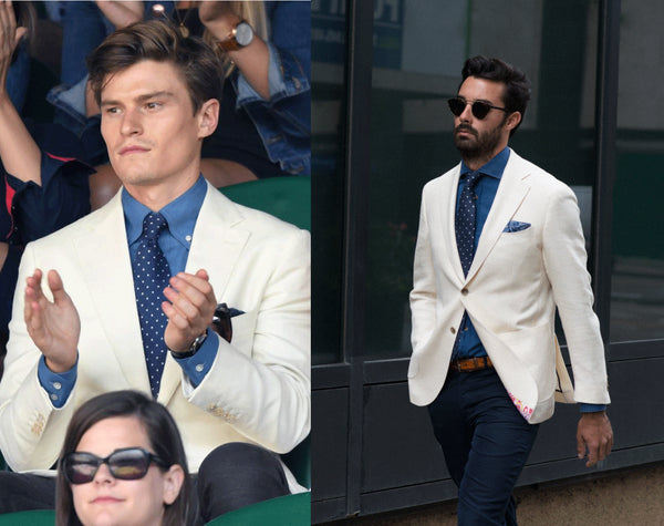 Wimbledon preppy fashion - the Helm Edmonton menswear