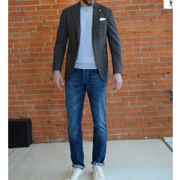 3 ways to wear your sport jacket, casual