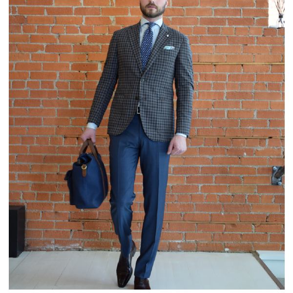 3 ways to wear your sport jacket, office
