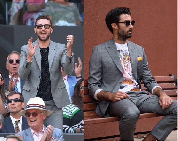 Wimbledon justin timberlake fashion - the Helm Edmonton menswear