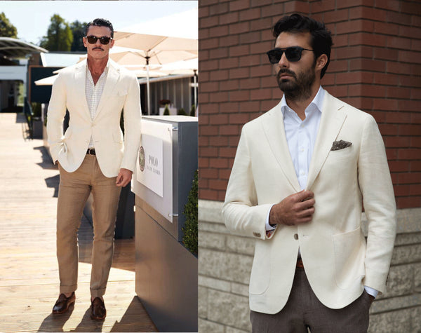Wimbledon yacht party fashion - the Helm Edmonton menswear