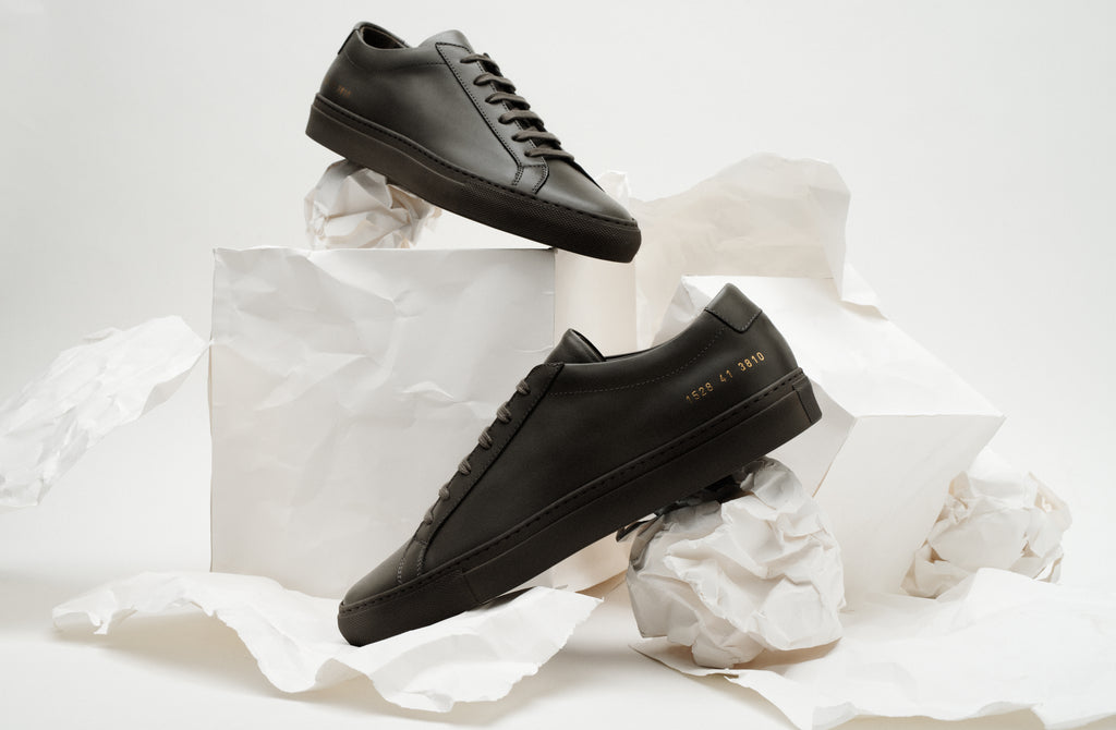 Grey Common Projects Achilles Sneaker