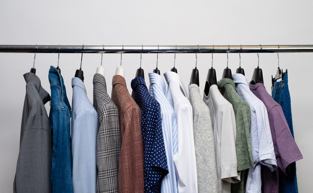 Wardrobe edit - clean spring closet