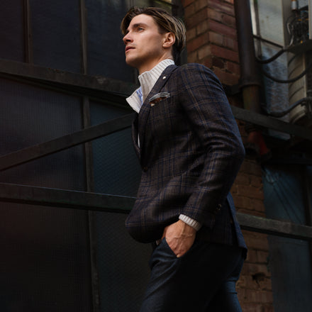 Made to measure men's clothing, men's suits in edmonton