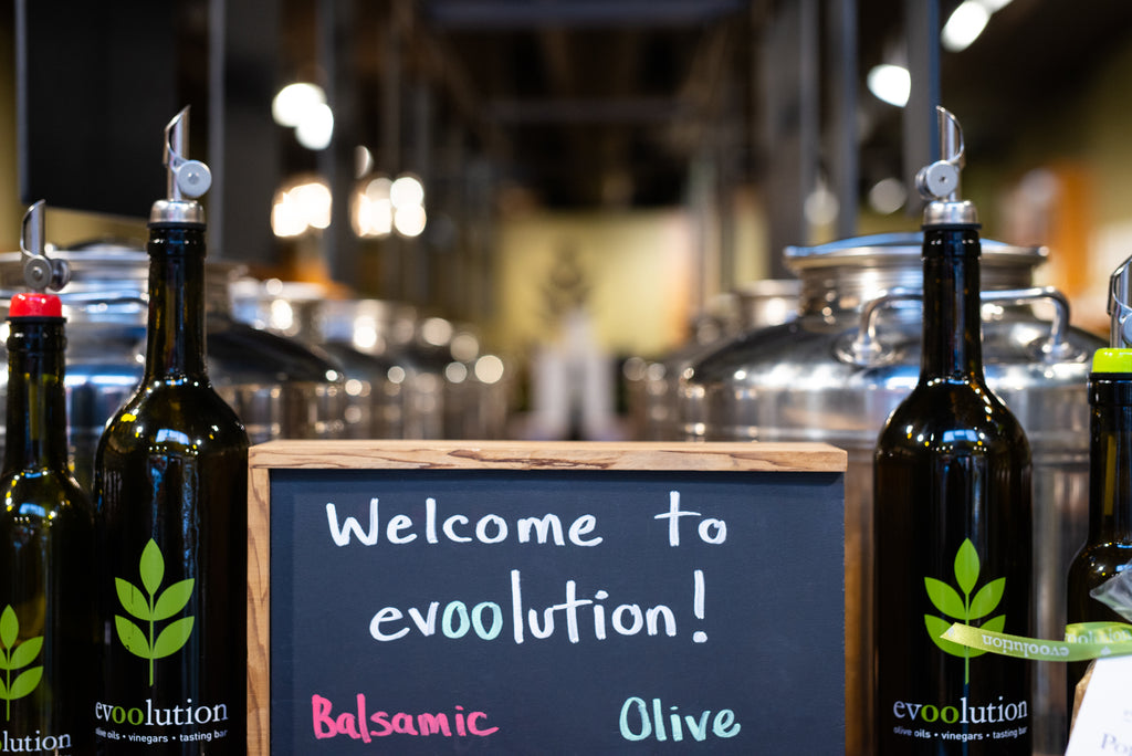 Evoolution's welcome sign