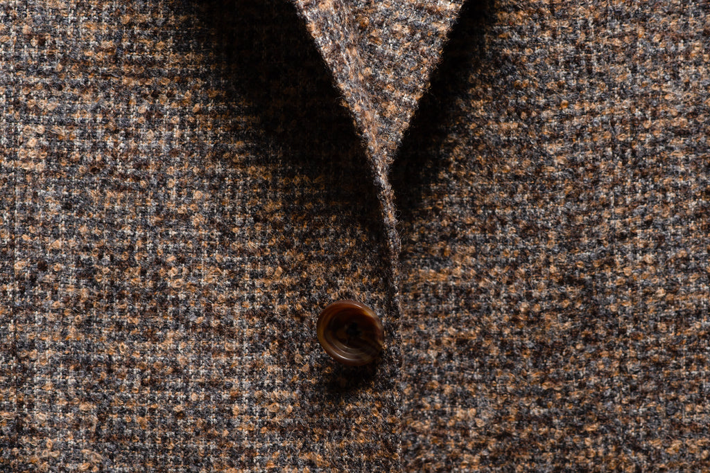 Loro piana alpaca fabric closeup
