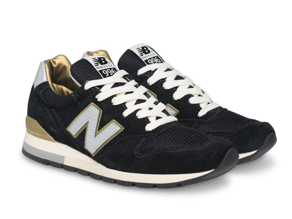 New Balance black and gold sneakers Made in USA