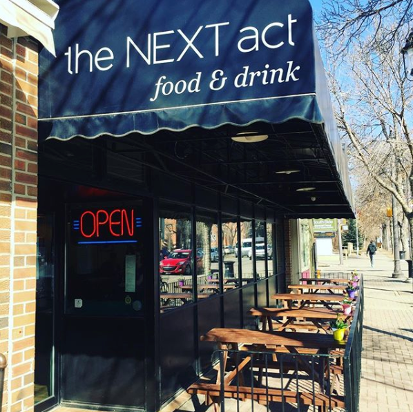 Next Act Patio Edmonton