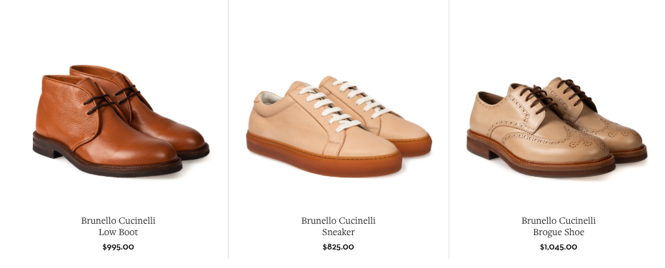 Brunello Cucinelli Shoes
